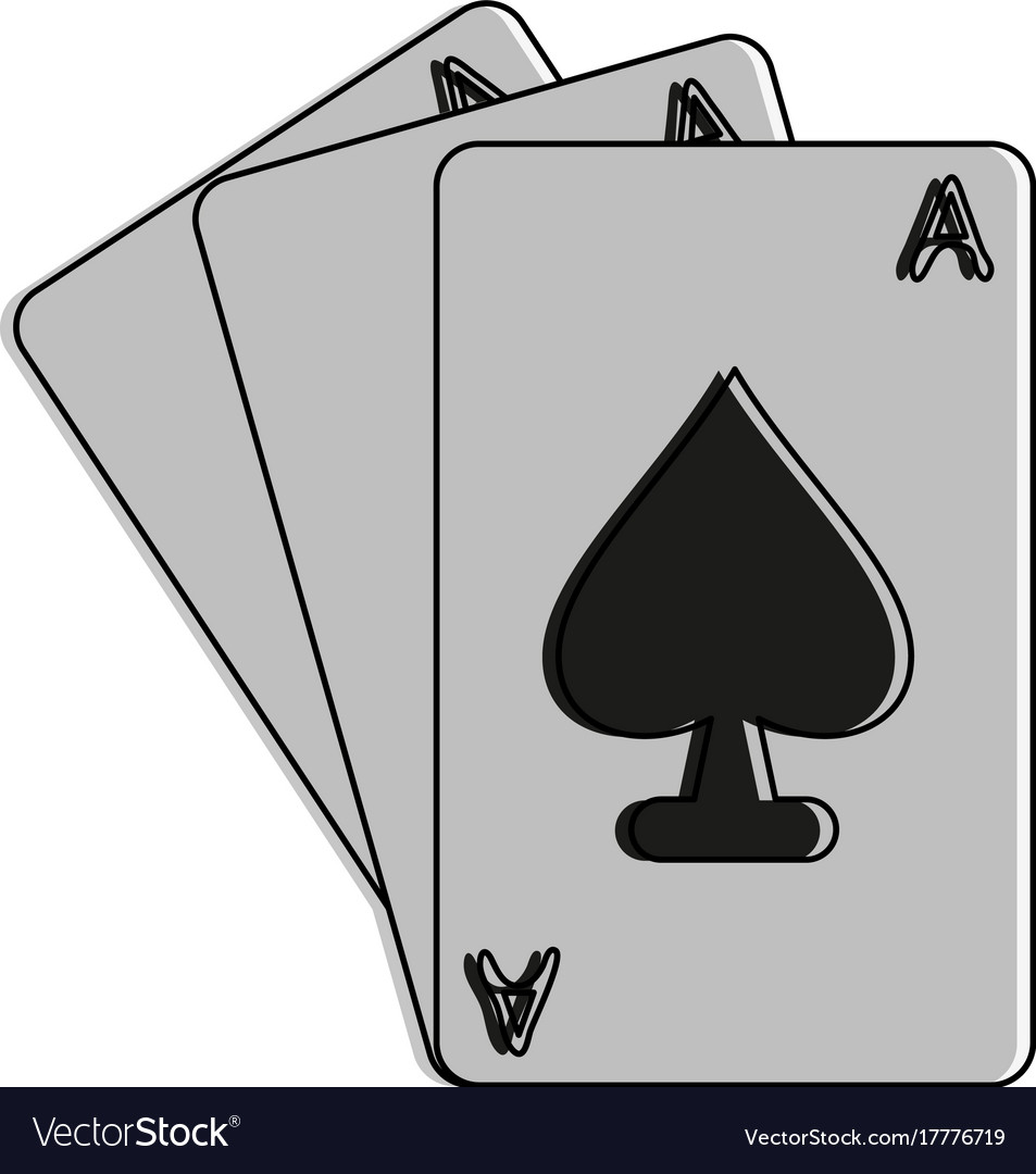 Ace of spades cards icon image