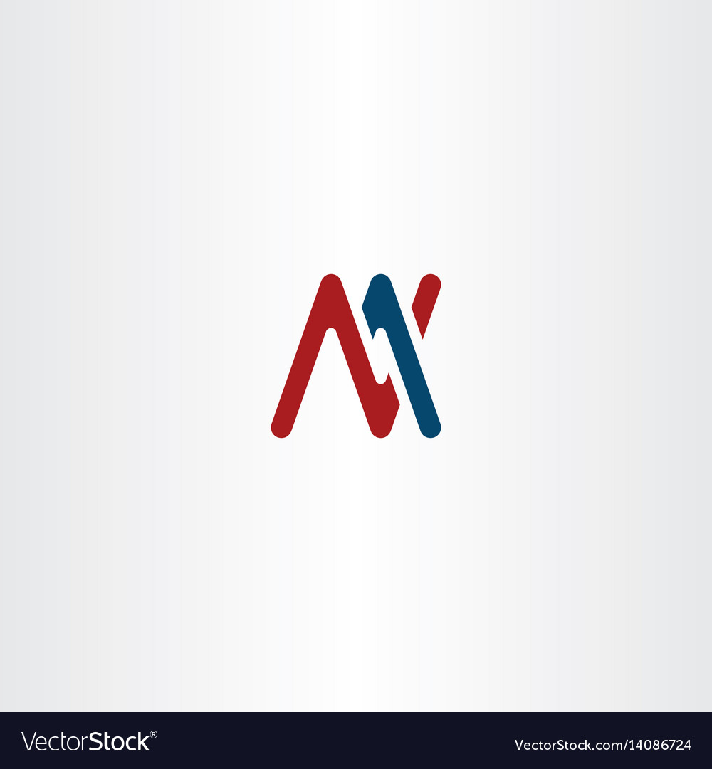 Letter m and n logo sign symbol