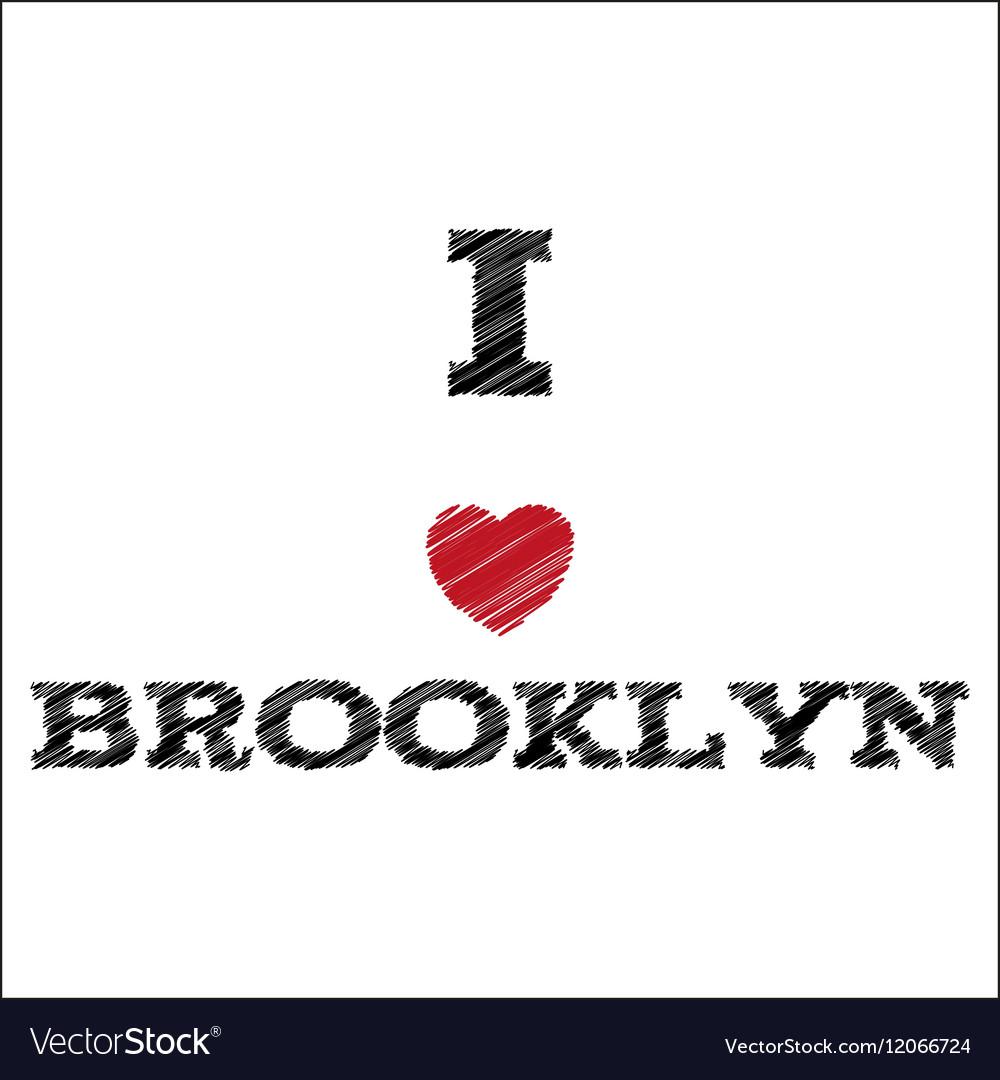 Slogan - I love Brooklyn eps