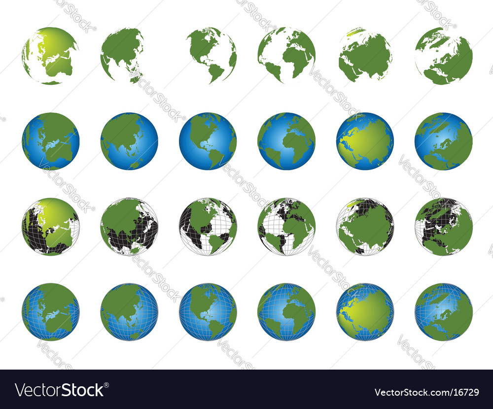 world map globe template. World Map Globe Collection