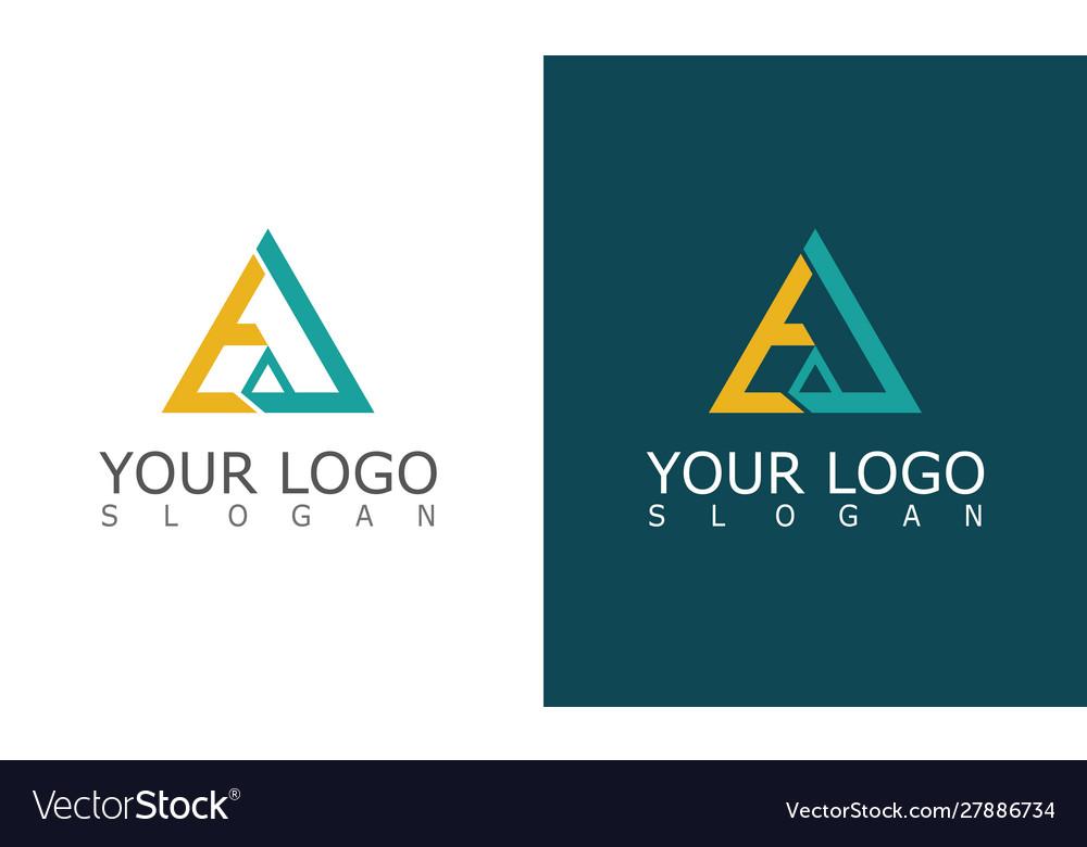 Triangle company logo