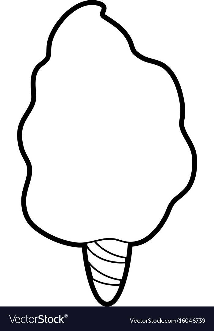 Delicious cotton candy icon image