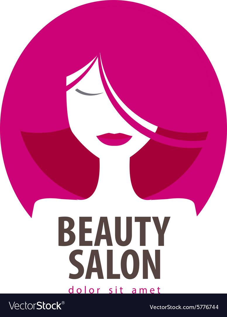 Beauty logo design template cosmetic