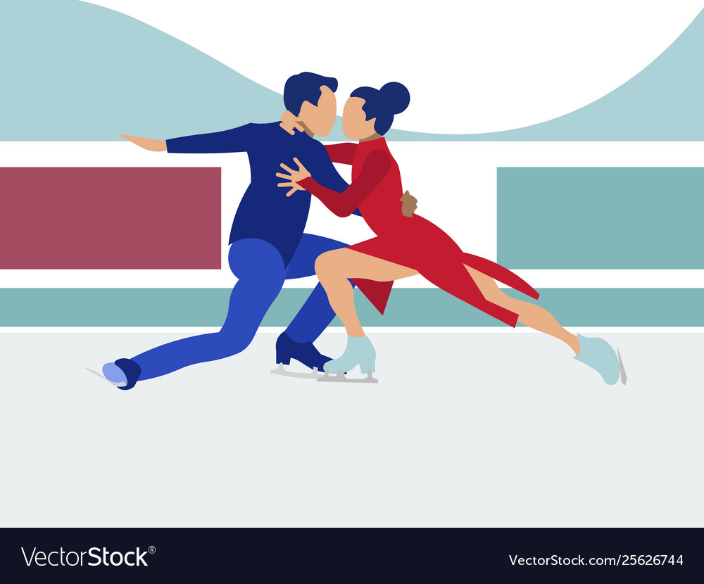 Competitions sports dancing on ice in