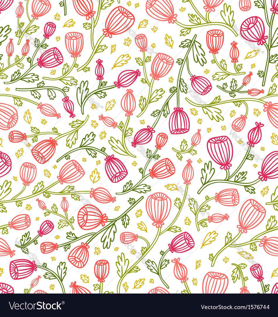 Pink daisies pattern