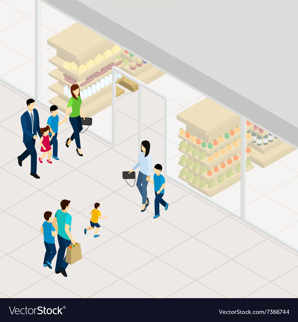 Supermarket Isometric