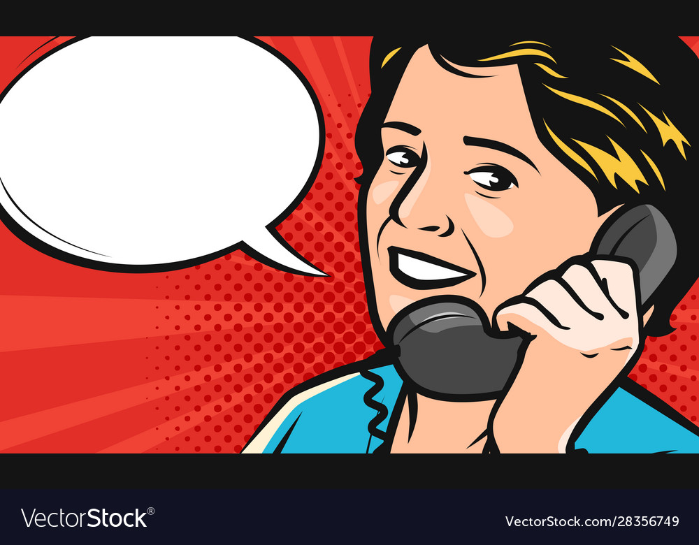 Beautiful young woman speaks on phone