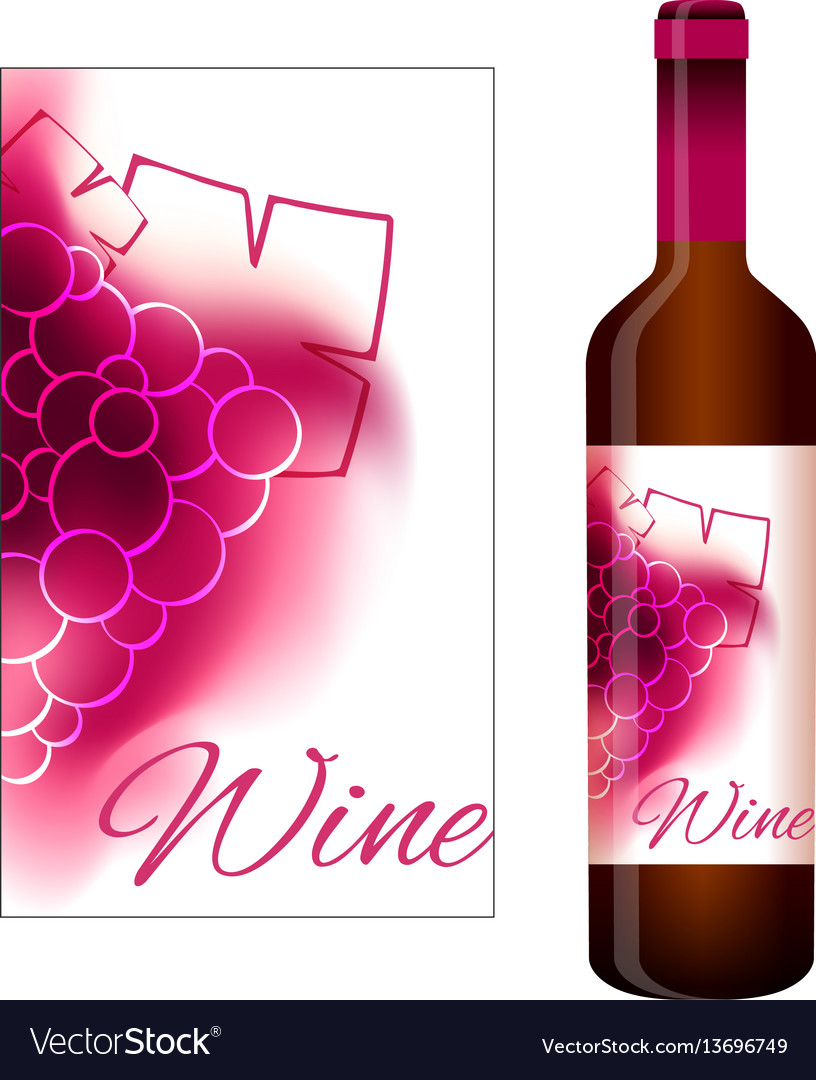 Label for red wine