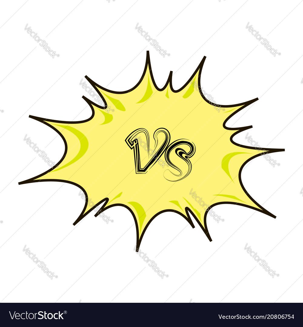 Concept of confrontation together standoff