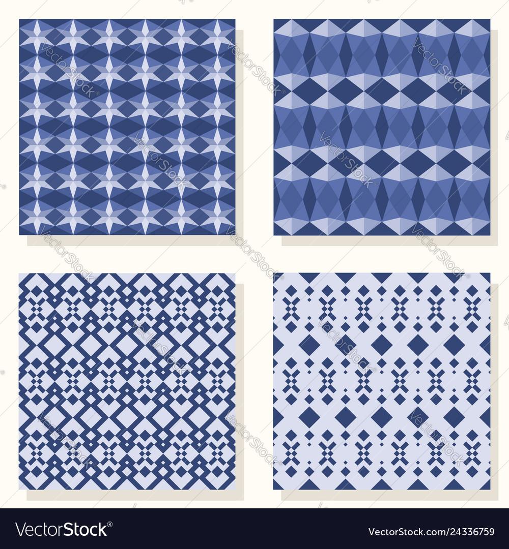 Geometric set pattern