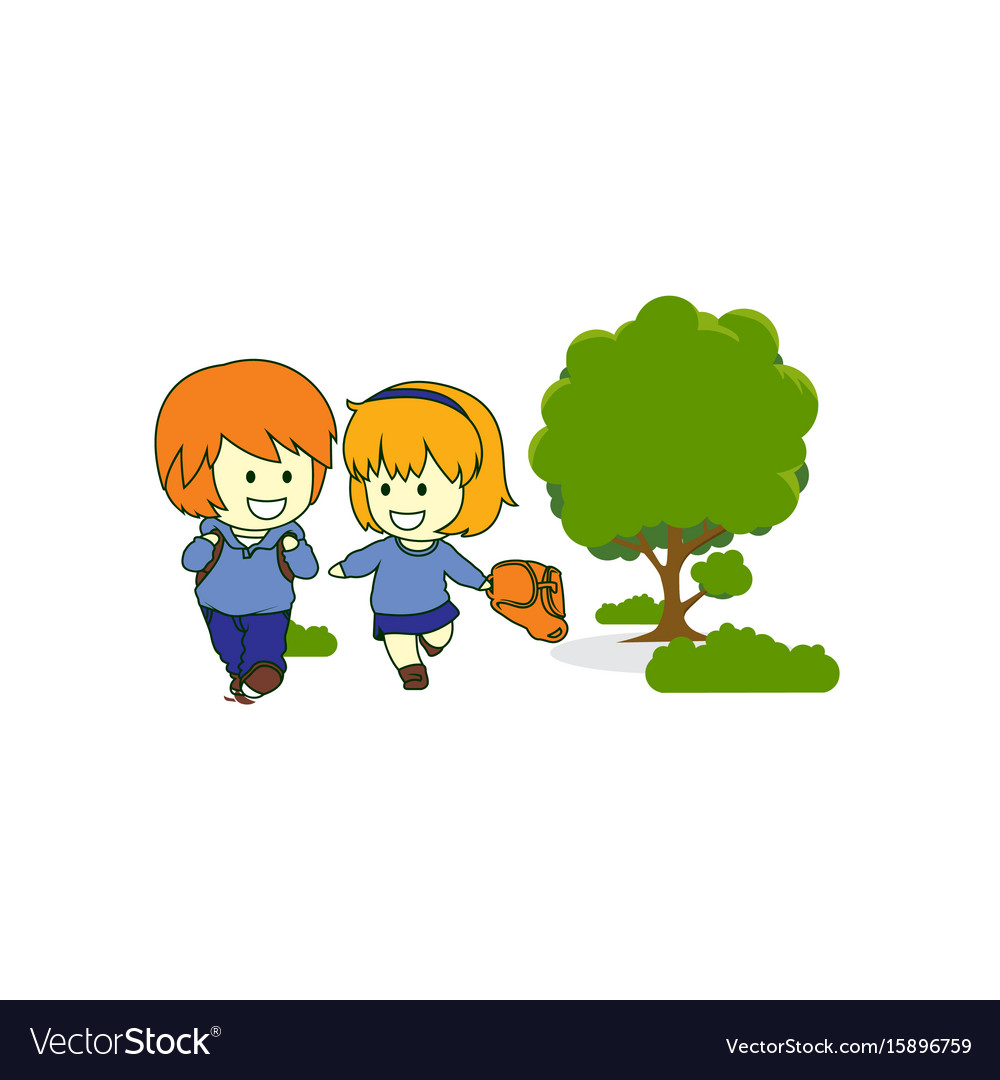Happy kids children play