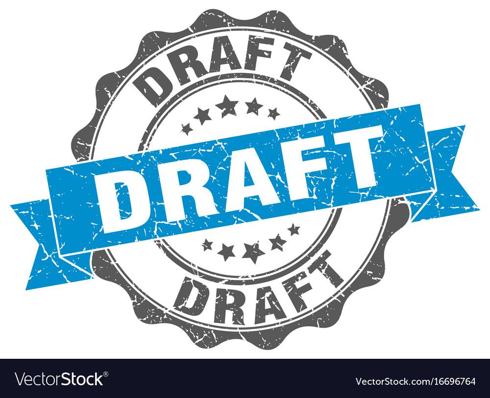 Draft stamp sign seal