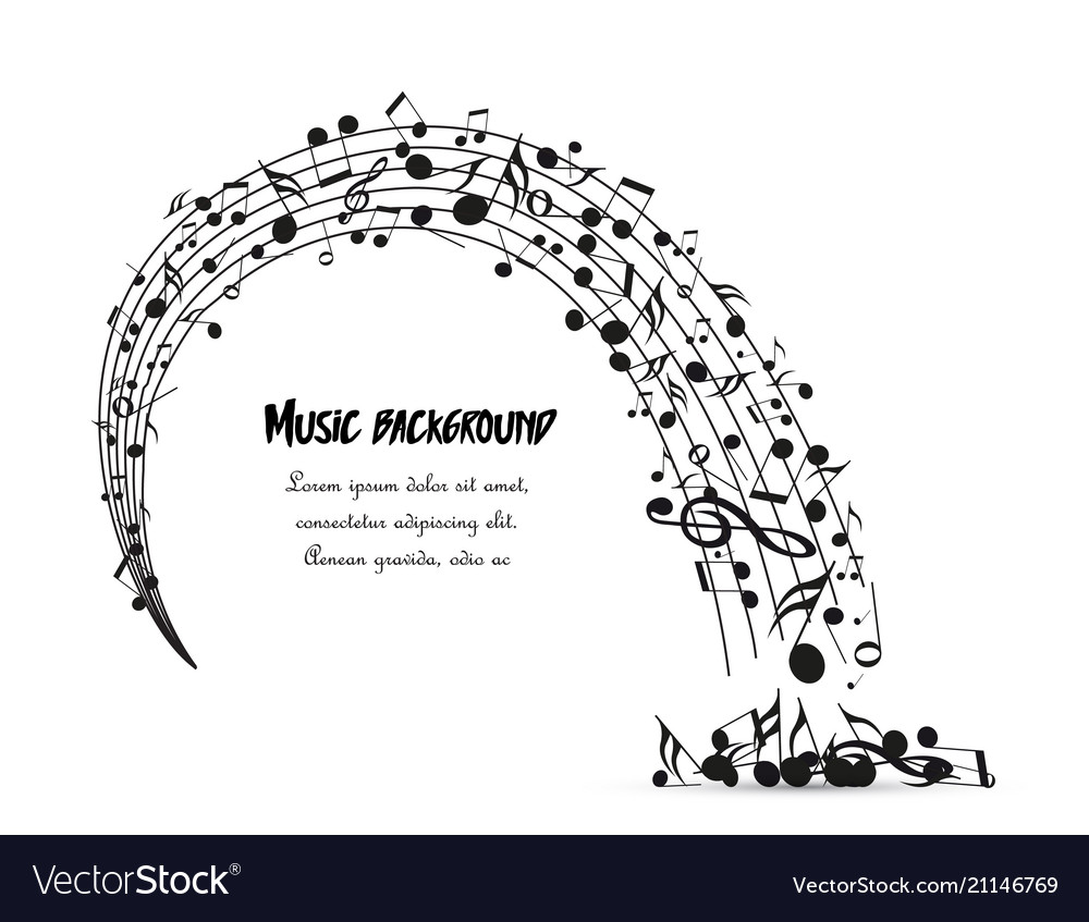 Decoration of musical notes