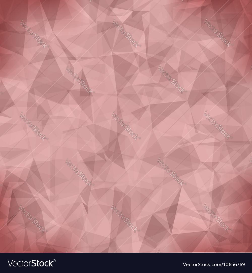 Pink Light Polygonal Mosaic Background