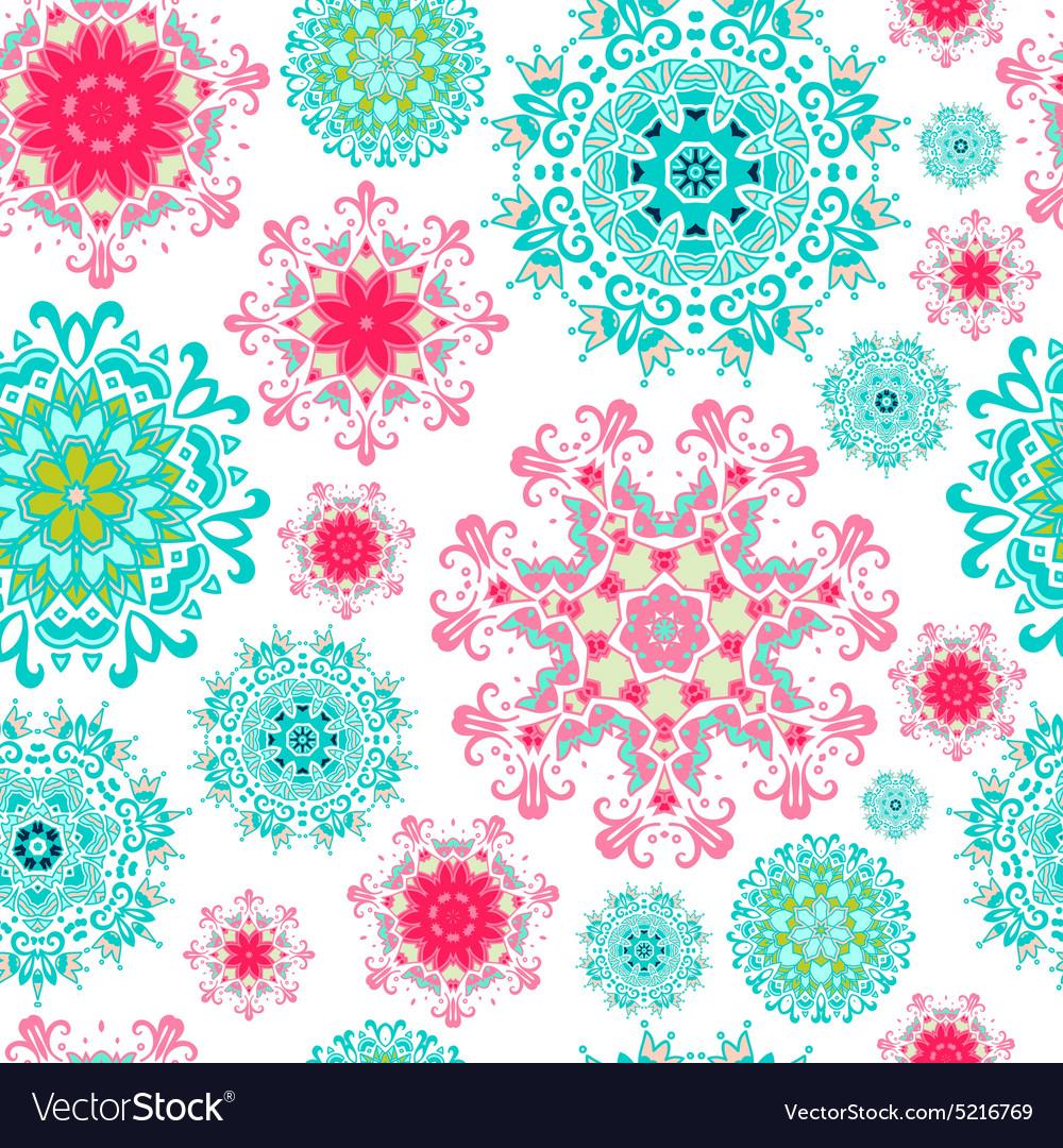 Seamless mandala background
