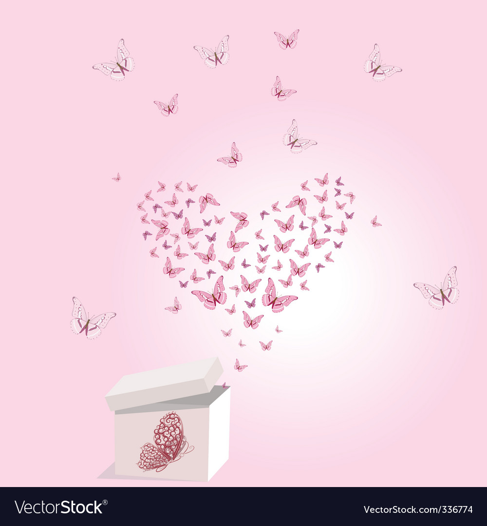 Gift valentine vector image