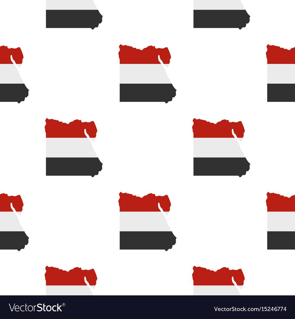 Map of egypt pattern seamless