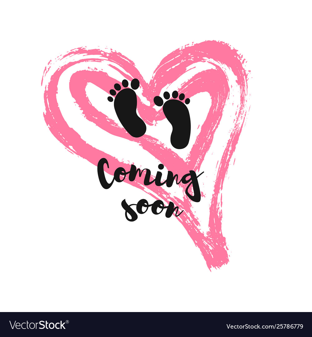 Baby Coming Soon Vector Images 42