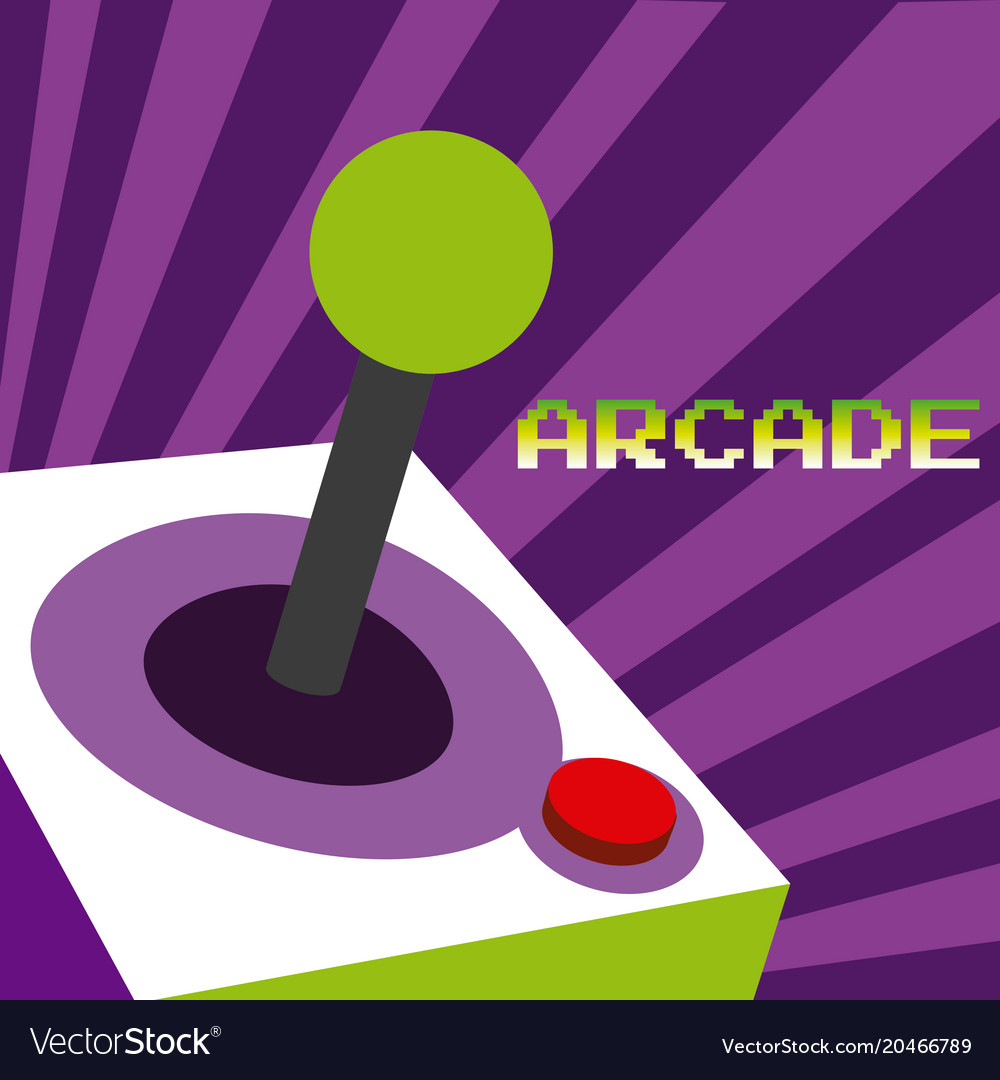 Arcade vintage gamepad