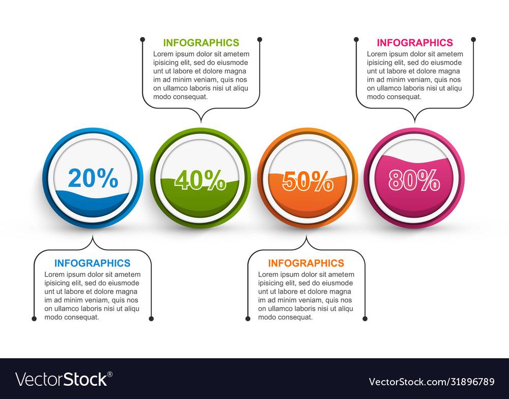 Options infographics template infographics
