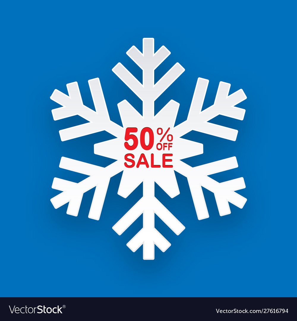 Christmas discount winter on sales for stores