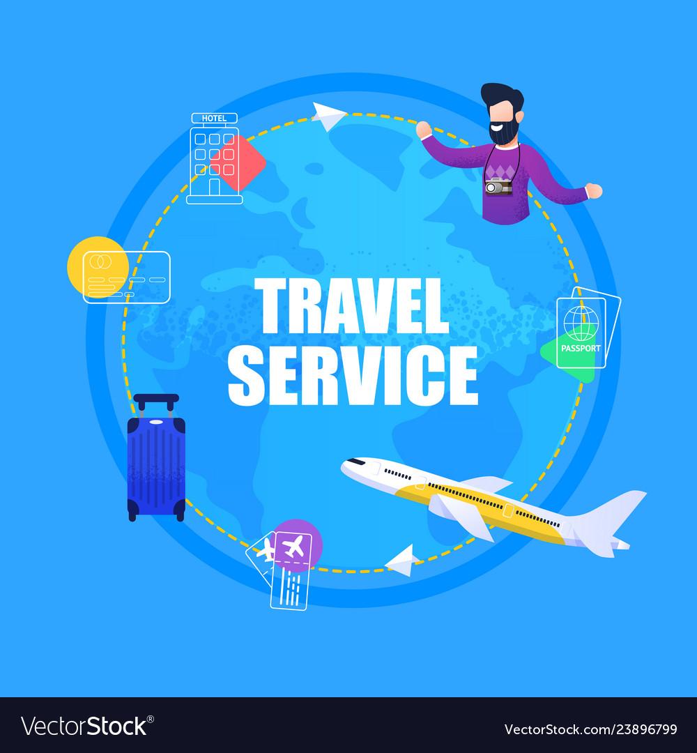Banner travel service ticket booking