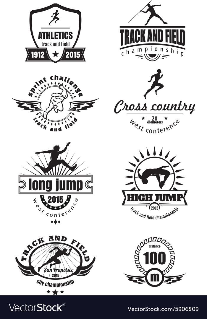 Athletics emblems