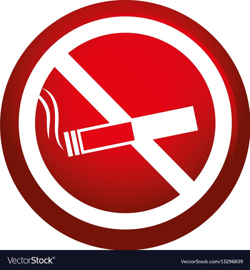 Dont smoking signal icon