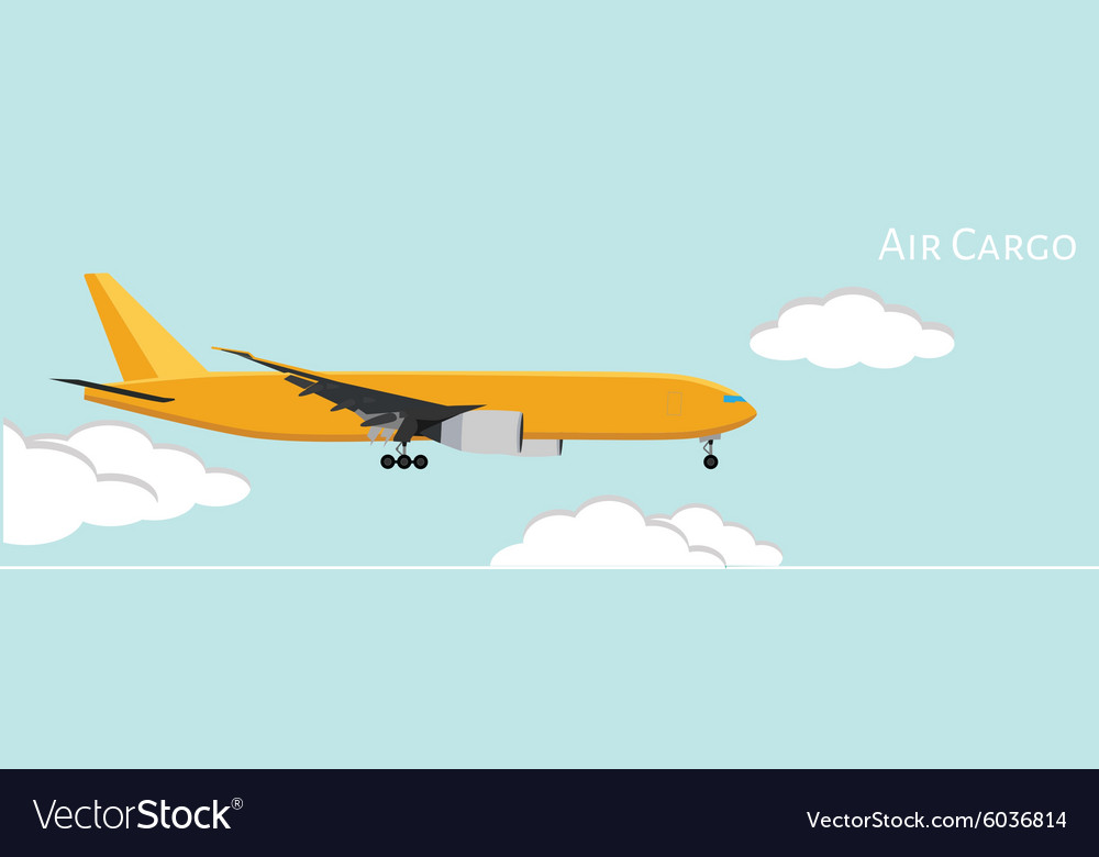 Air Cargo Royalty Free Vector Image Vectorstock