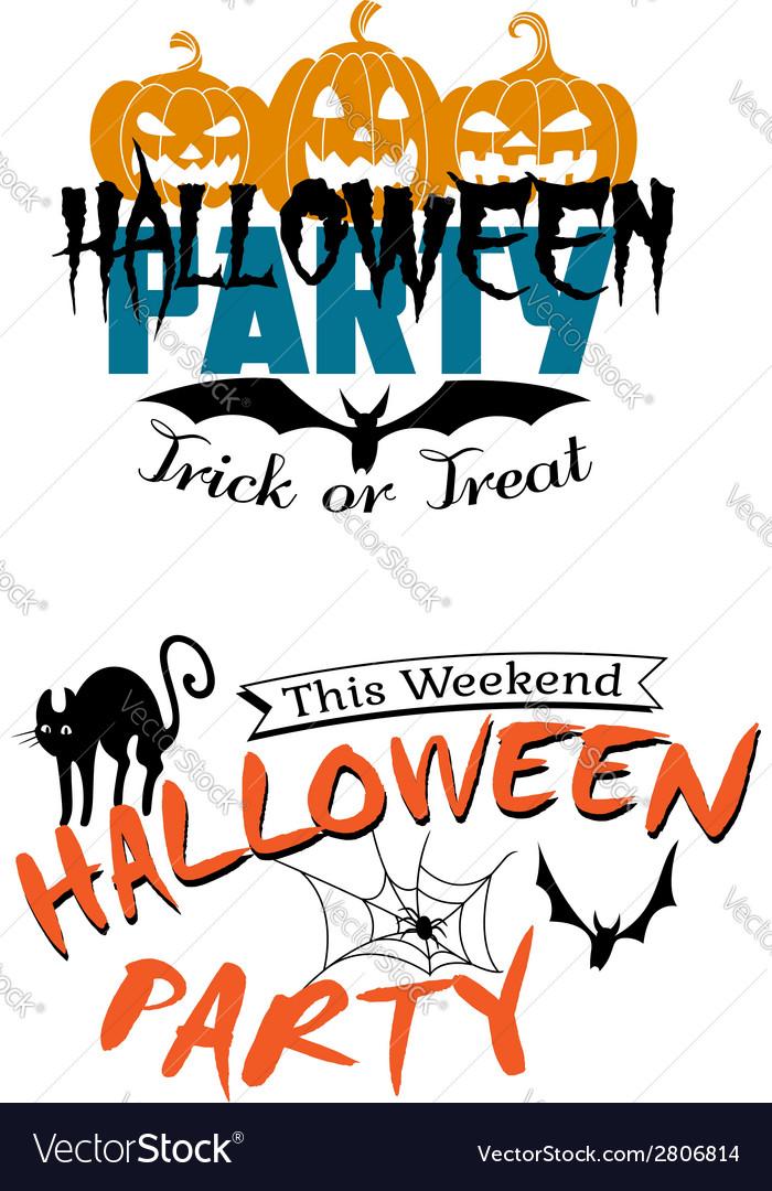 Halloween party invitation royalty free vector image halloween party invitation vector image stopboris Gallery