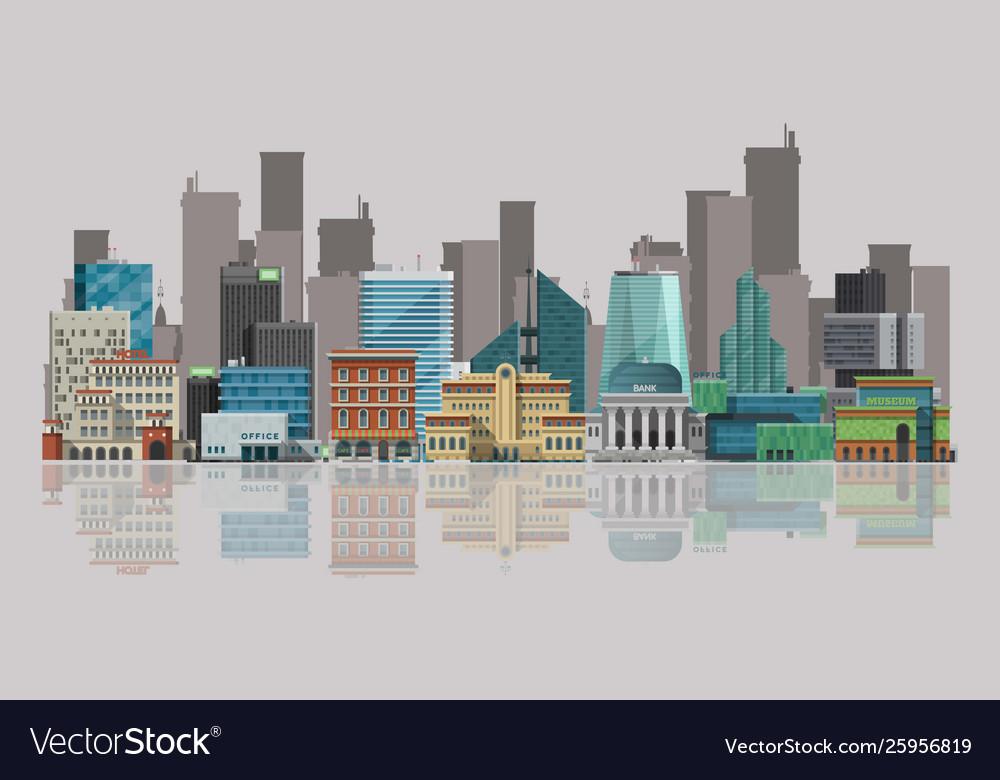 Cityscape urban landscape