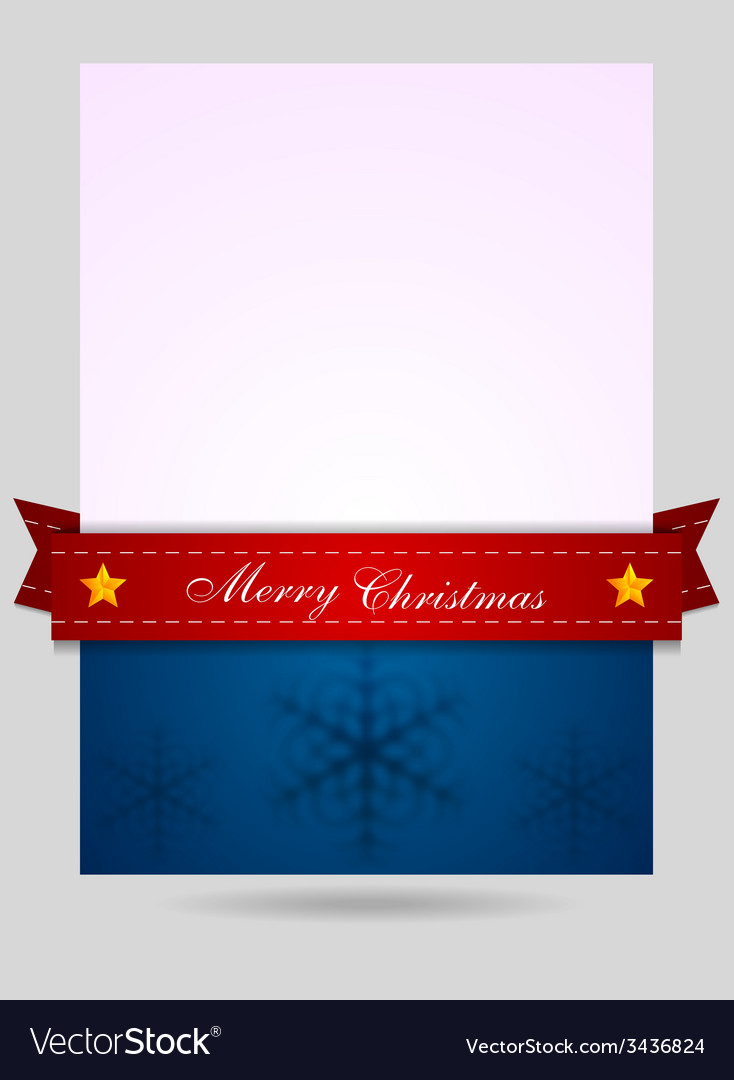 abstract christmas flyer background royalty free vector