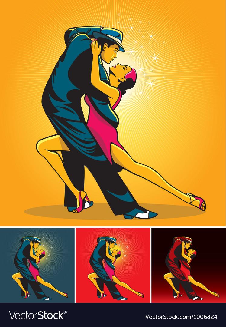 Tango colors vector image