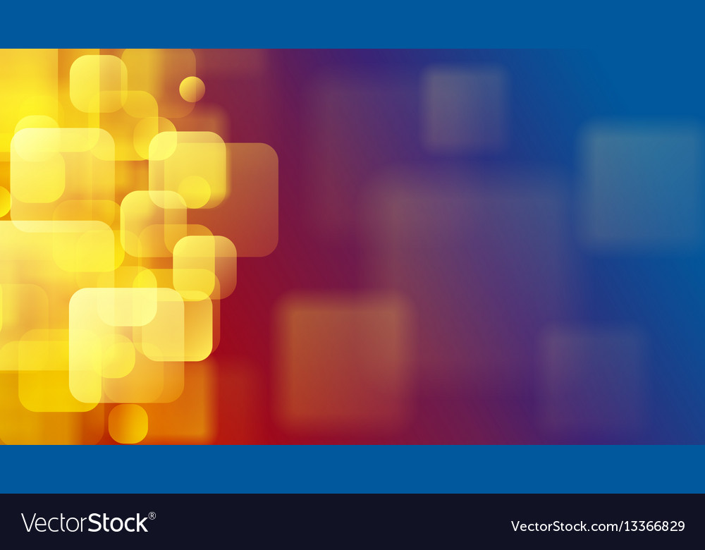 Abstract background of blurry squares vector image on VectorStock