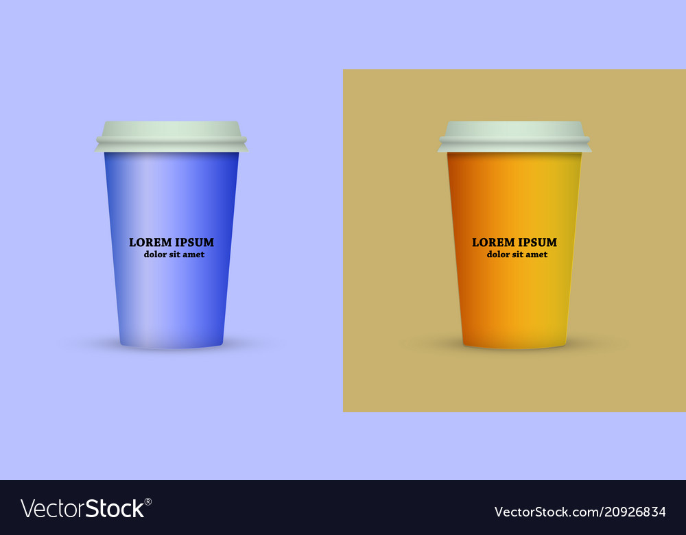 Coffee Cup To Go Coffee Cups Set Collection