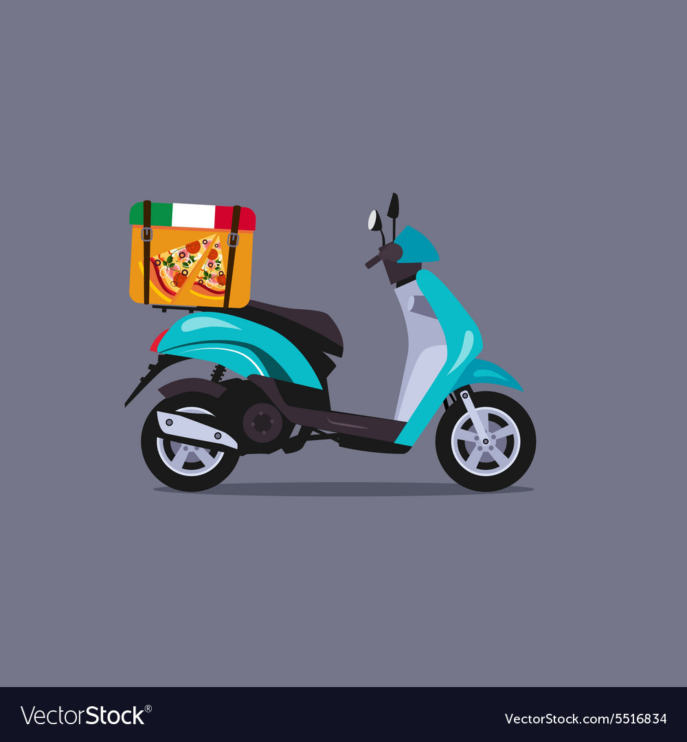 Scooter motorbike