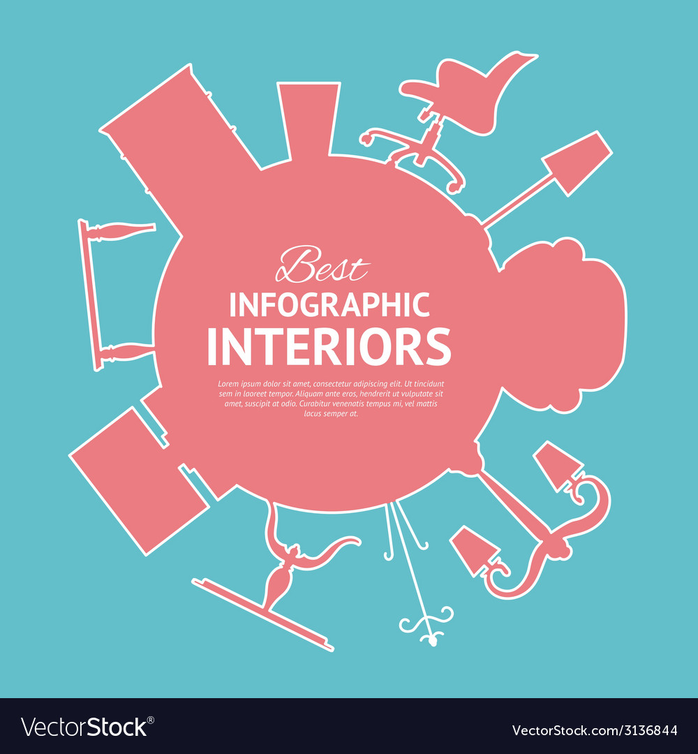 Flat colors infographics