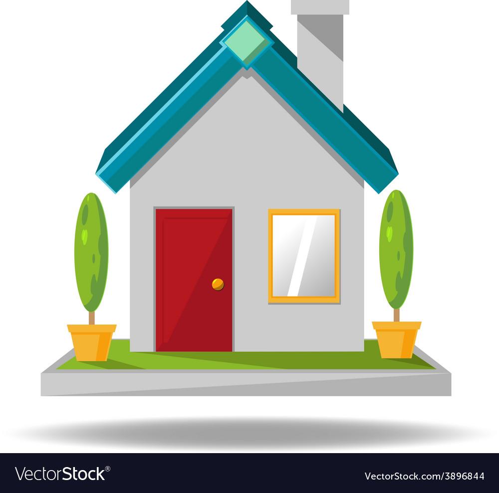 House icon cartoon
