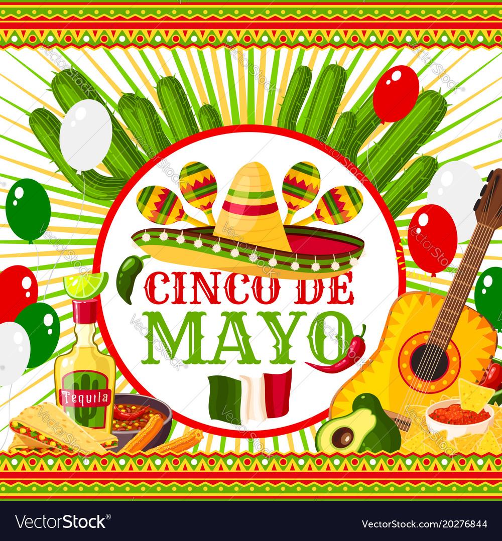 Poster cinco de mayo