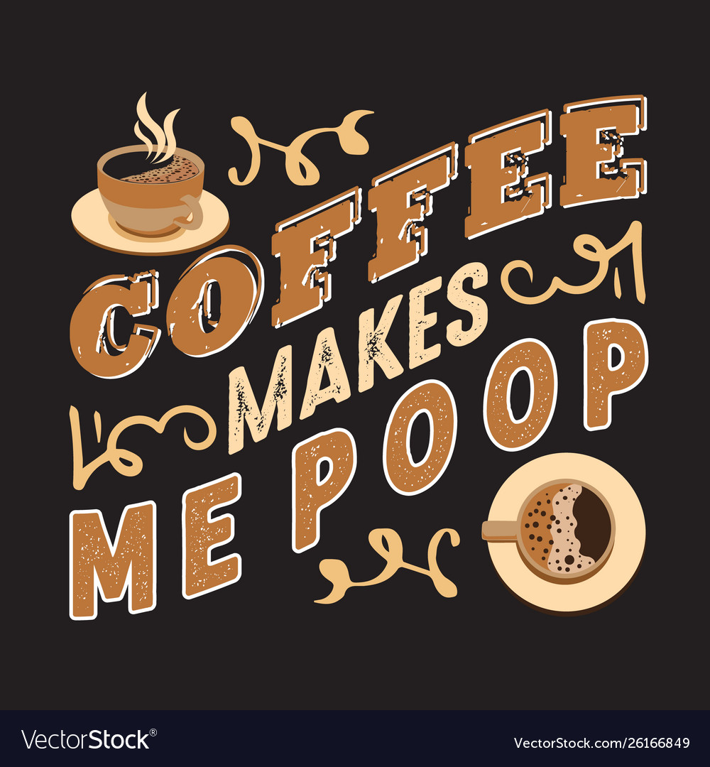 Coffee quote and saying good for design