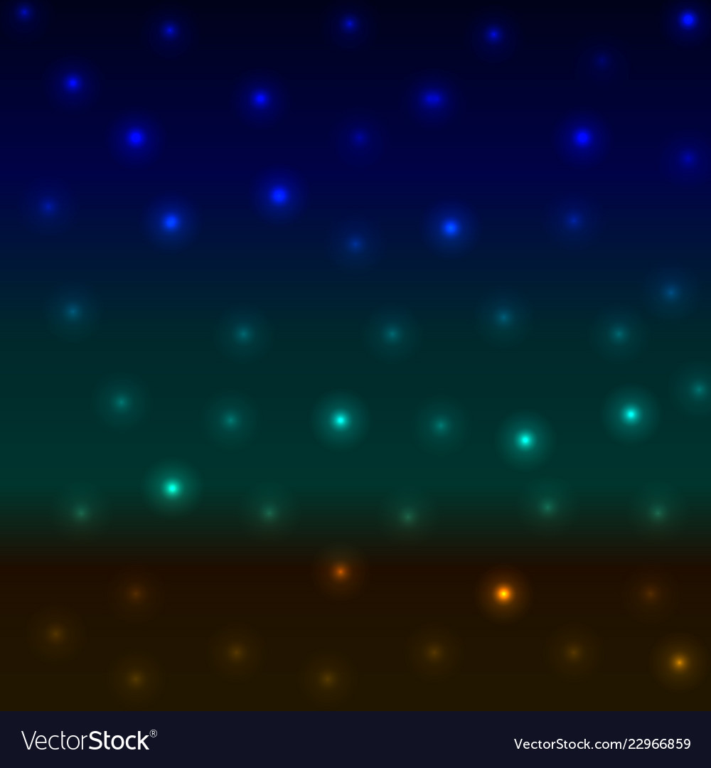 Abstract background blurred night landscape sea