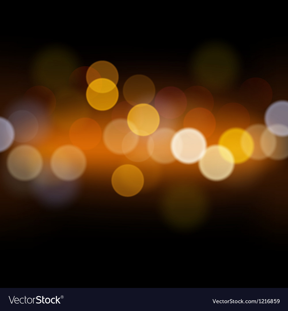 Abstract festive background with defocused lights