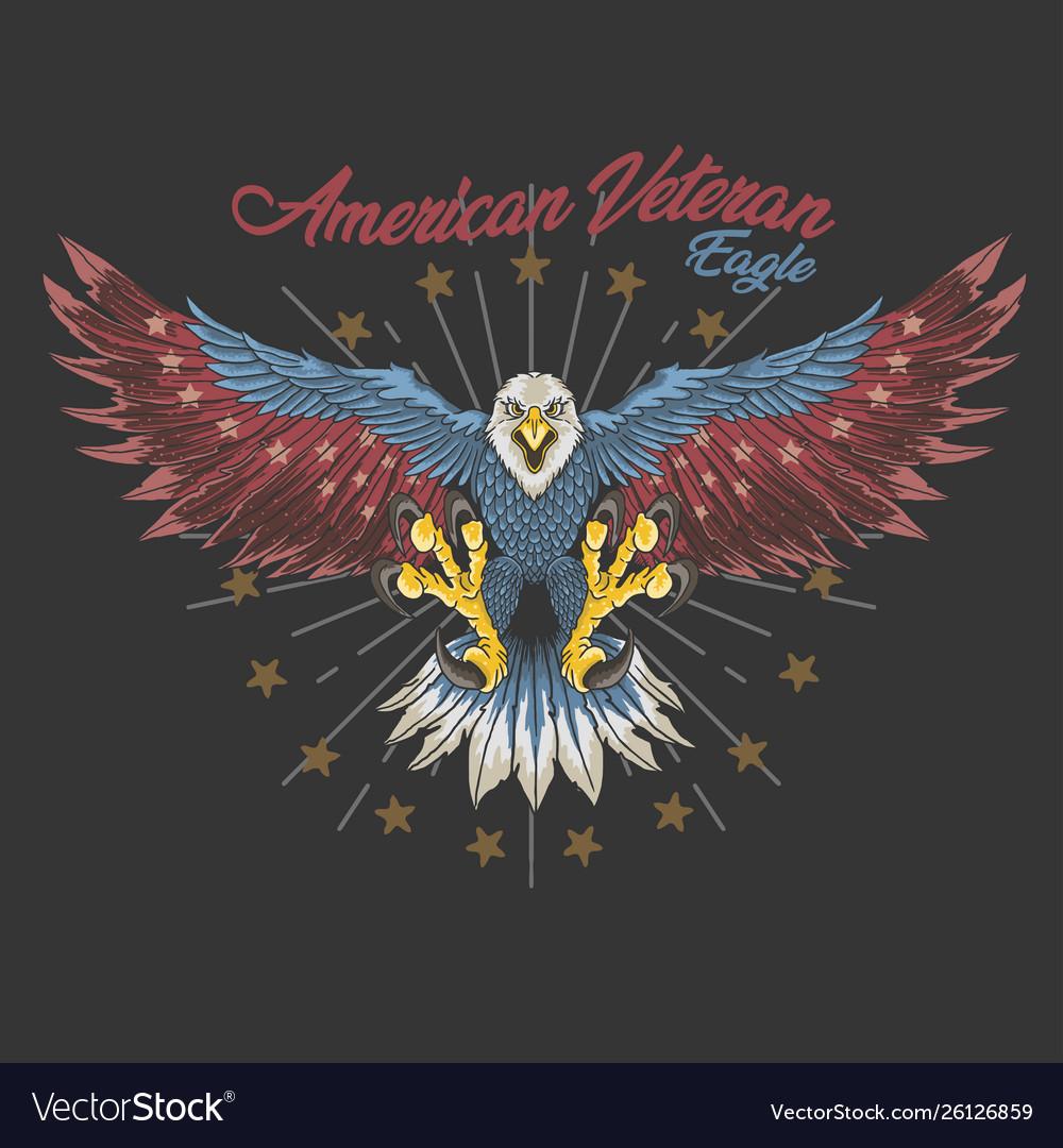 American veteran eagle