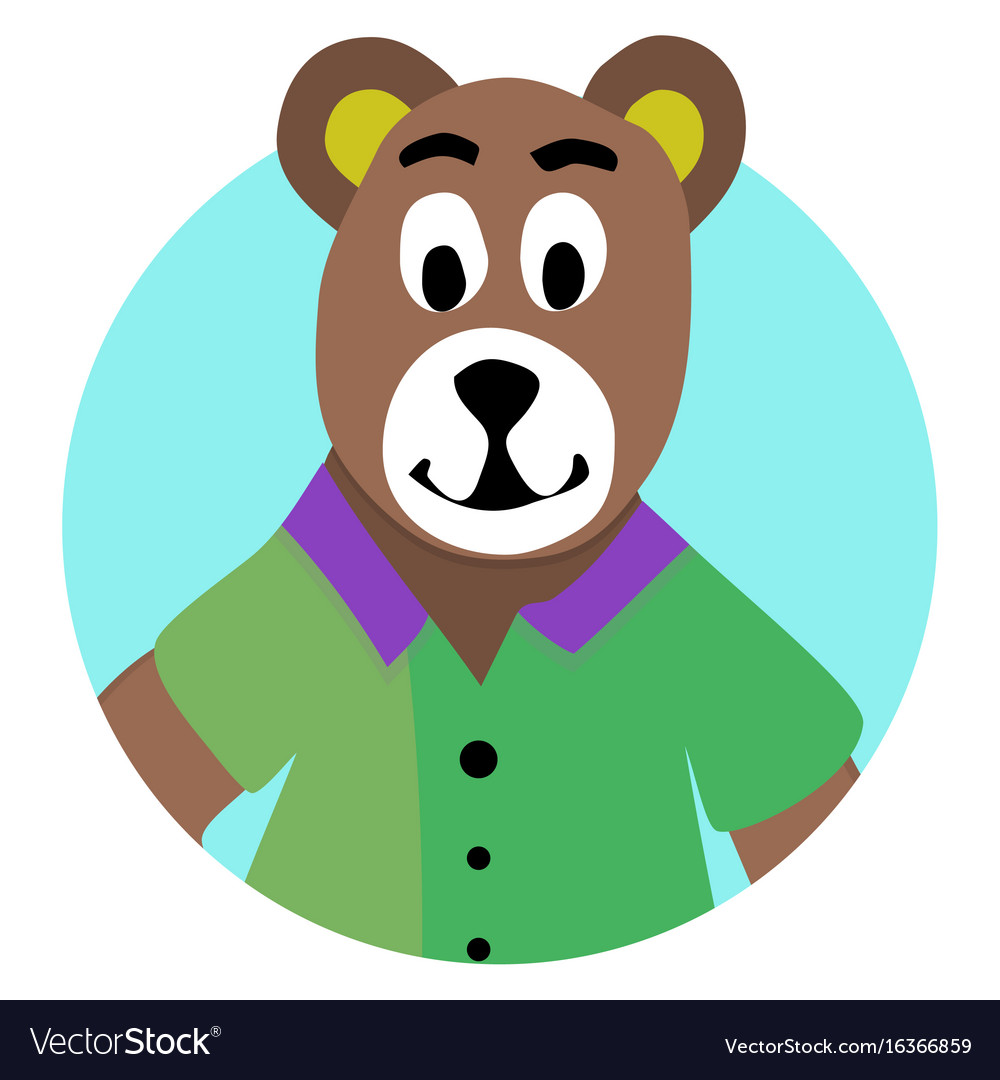 Bear animal icon app