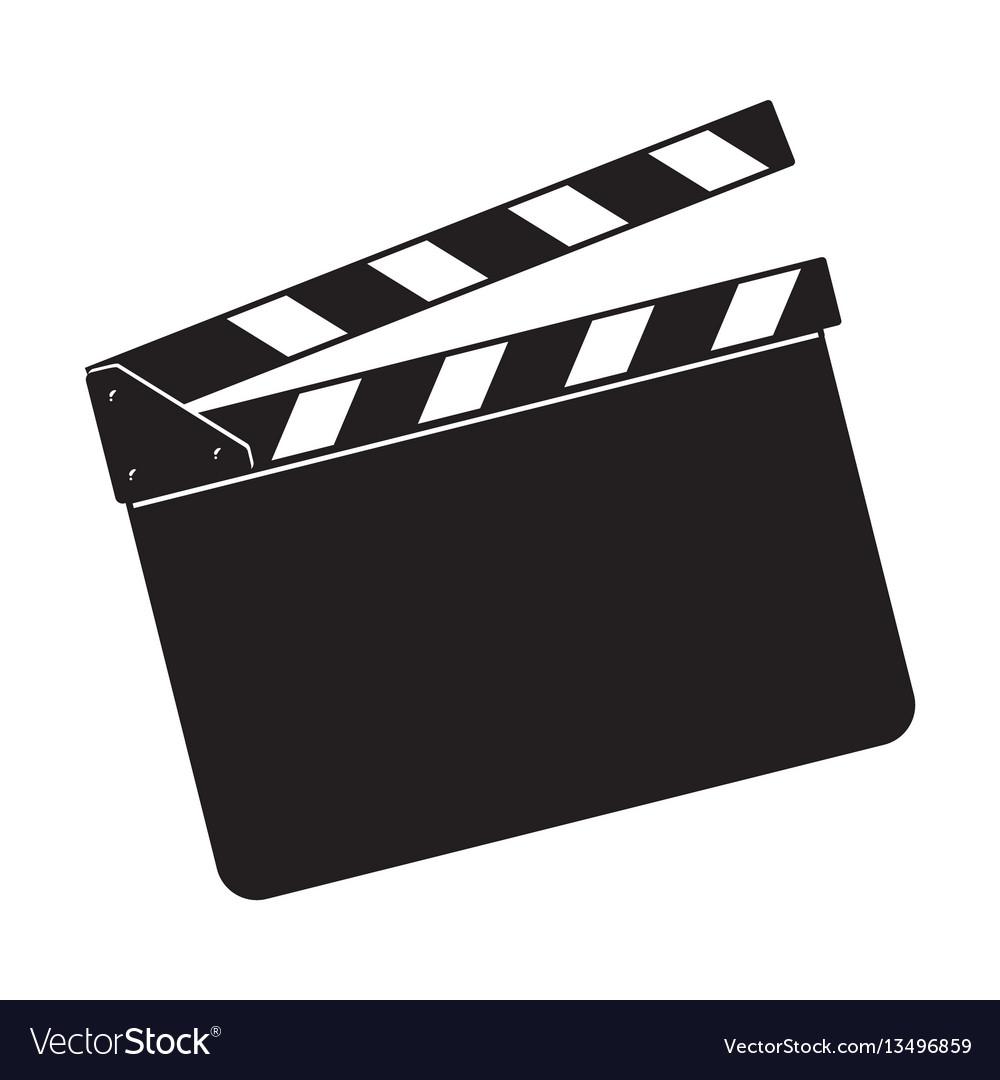 blank cinema production black clapper board vector image Strive Clip Art resale clipart graphics