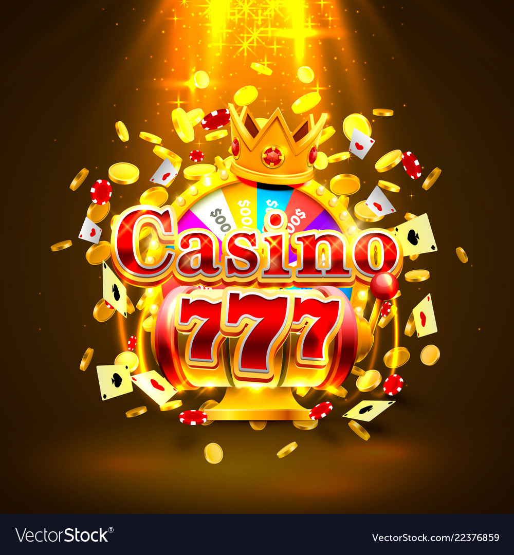 Casino 777 big win slots and fortune king banner