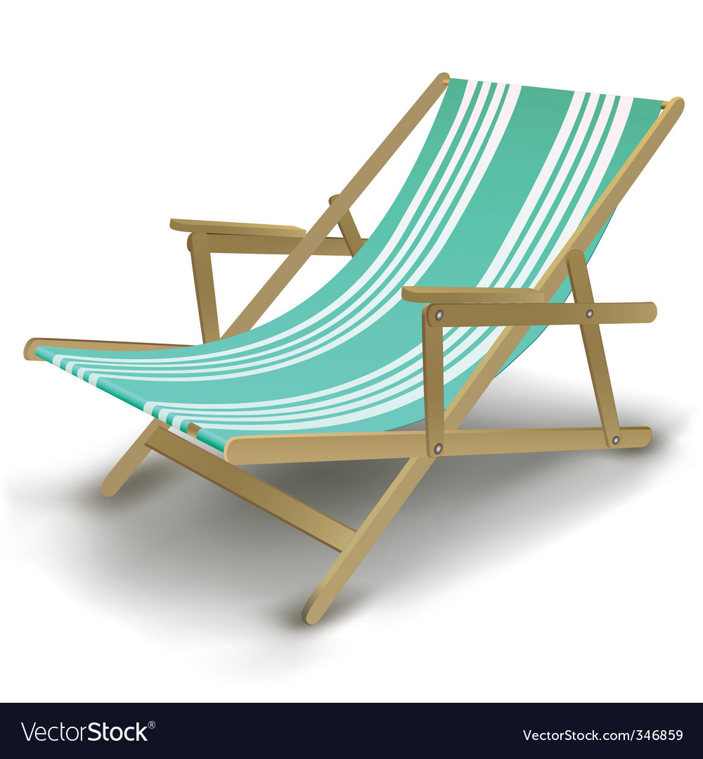 Genial Relaxing Chair Vector Image