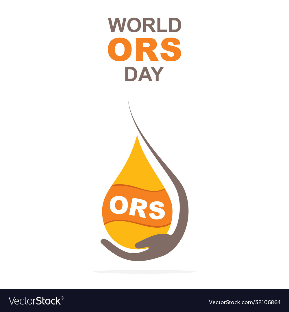 World ors day poster design