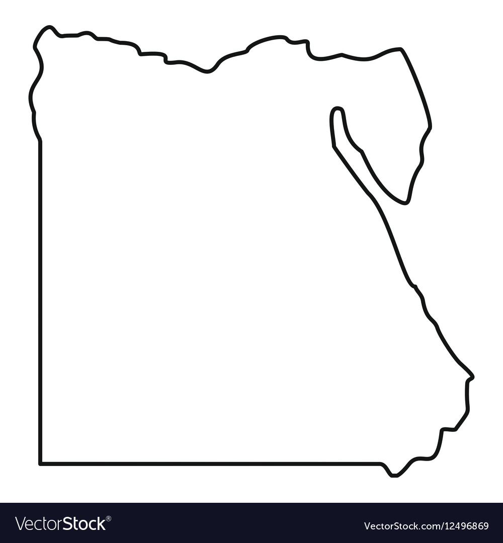 контурная карта египта картинка предлагаем вам окунуться