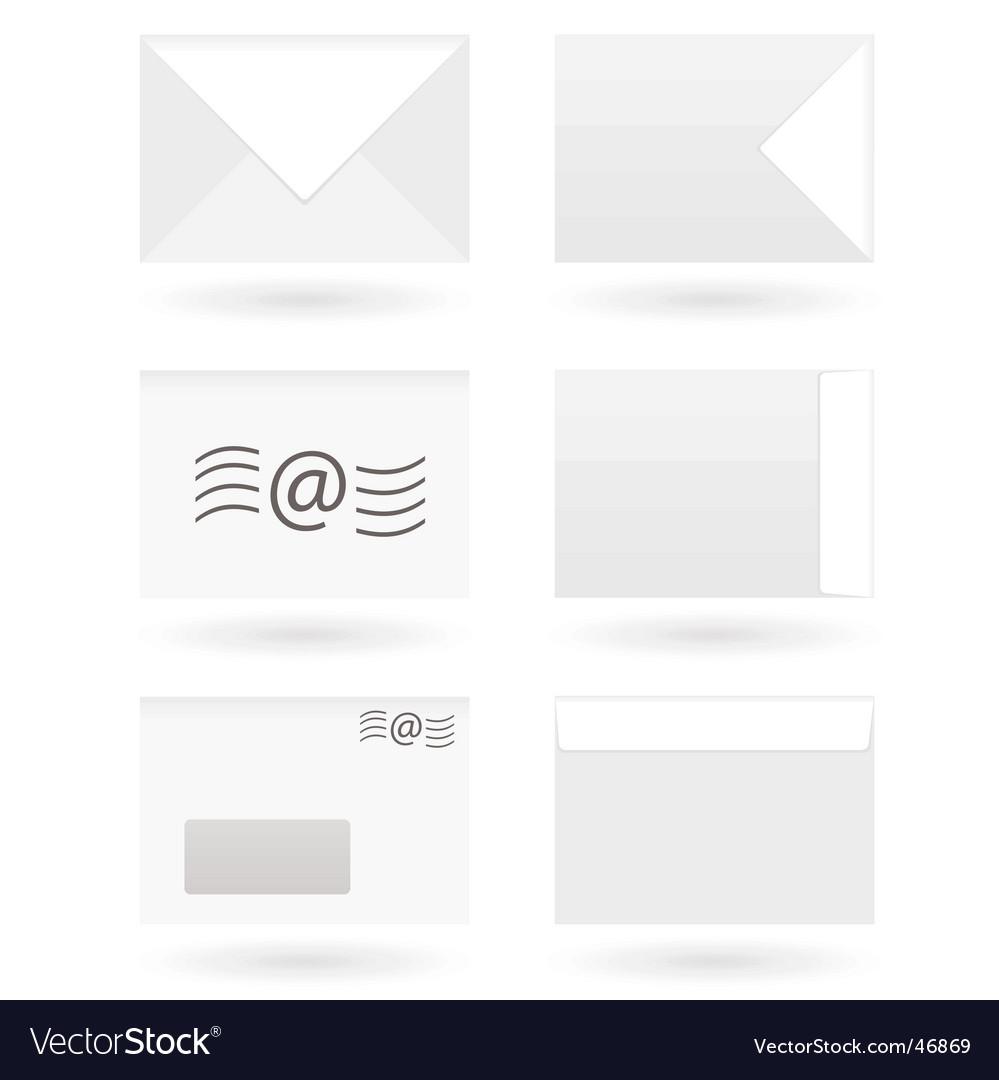 Envelopes vector image